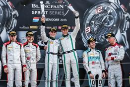 Bentley Continental GT3 wins Blancpain Sprint Series