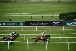 Bentley Sprints into new partnership with the Jockey Club