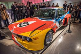 The announcement event of the new BMW Art Car artists