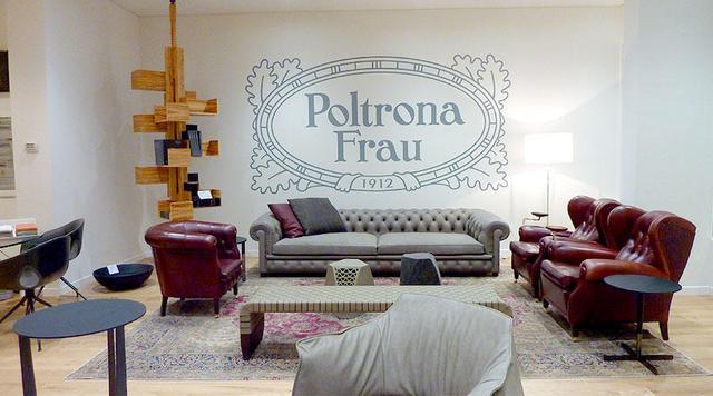 Poltrona Frau Torino.Poltrona Frau Turin Opened The New Temporary Store