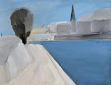 6. Nicolas de Stael, Vue des quais de Paris, 1954
