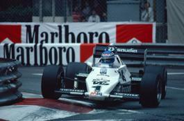 1983 Monaco Grand Prix. Monte Carlo, Monaco. 12-15 May 1983. Keke Rosberg (Williams FW08C Ford)