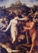 A.Allori, Ercole coronato dalle muse, G.Uffizi