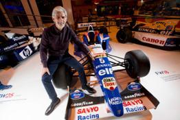 Damon Hill at ASI