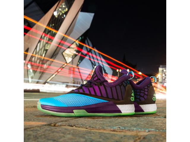 b69adf1fd2ed adidas Unveils James Harden Crazylight Boost 2.5 PE of the Aurora Borealis  Basketball Collection