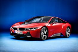 The new BMW i8 Protonic Red Edition