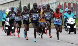 Yamaha Tricity alla Milano Marathon (1)