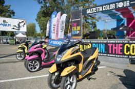 Yamaha Tricity alla Color Run (2)