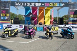 Yamaha Tricity alla Color Run (3)