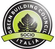 logo socio LEED verde