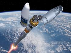 Artist_s_impression_of_the_Soyuz_Fregat_fairing_separation
