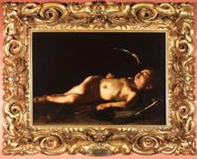 Caravaggio, Amore dormiente, Galleria Palatina, Firenze