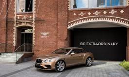 Bentley Continental GTC at Bolshevik