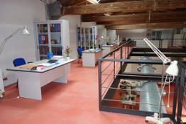Laboratorio restauri Area soppalcata 1