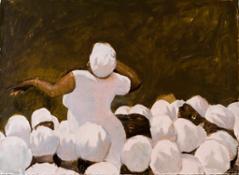 Larraz Bembé,2015 Watercolor & Pastel on Paper cm 99x135 39x53in br