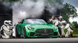 Performance brand within Mercedes-Benz celebrates a spectacular world premiere: Lewis Hamilton and Tobias Moers present the new AMG GT R