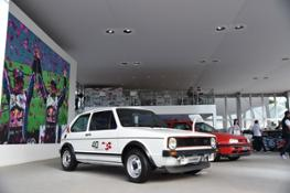 Volkswagen celebrates 40 years of the Golf GTI at Goodwood 2016