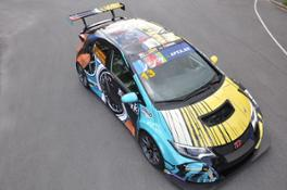 75755 Michel Vaillant inspired Honda Art Car Jean Graton will make race debut