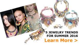 Jewelry Trends Summer 2016