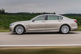 BMW 740e xDrive iPerformance Silvretta