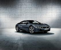 BMW i8 Protonic Dark Silver Edition special-edition model