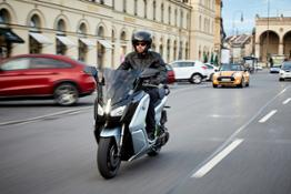 The new BMW C evolution – long range _ outdoor