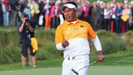 232461 thongchai jaidee golfer porsche european open bad griesbach 2015 porsche ag