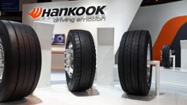 20160921 Hankook presents ultra fuel-efficient e-cube Blue long-haul tyre family