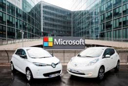 426153459 Renault Nissan and Microsoft partner to deliver the future of connected