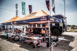 Bivouac Red Bull KTM Factory Racing Morocco 2016