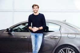 Alvaro Soler con Maserati Ghibli SQ4 (3)