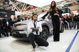 Motor Show Toyota Palmas e Brumotti