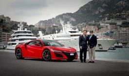 100306 First European NSX delivered to Honda ambassador Claude Sage