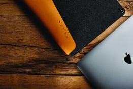 Sleeve for 13  Macbook Pro - Tan - 004