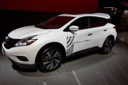 426168299 Nissan CEO Carlos Ghosn announces at CES breakthrough technologies and