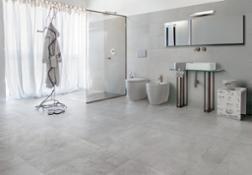 Arte-Pura Trame-Pietra 75x75 Rilievi-Pietra 37,5x75 bathroom