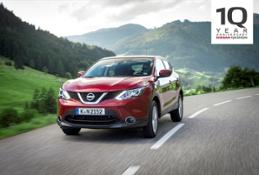 426173030 Nissan Qashqai 10th Birthday