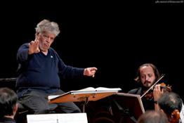 Claus Peter Flor durante le prove  con laVerdi della Quinta di Mahler - foto Marco Biancardi  (2)