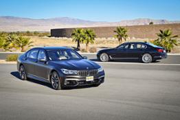 Family Shot BMW M760Li xDrive + BMW M760Li xDrive V12 Excellence