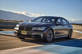 Race Track BMW M760Li xDrive