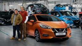 426183140 Nissan fans build all new Micra on Facebook Live in production line world