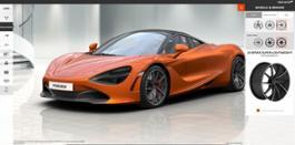 McLaren configurator 720S wheels