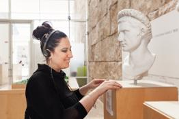 ART FOR THE BLIND Museo Ara Pacis (1)