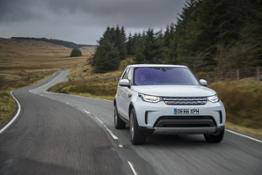 Land Rover Discovery Yulong White