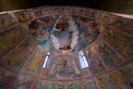 abbazia di san pietro in valle affreschi