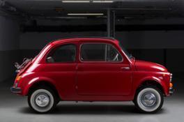 Fiat 500 EV foto di studio