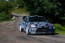 Hyundai i20 Coupe WRC Testing