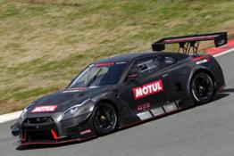 Nissan GT-R NISMO GT3 hits the track in Japan 01-source