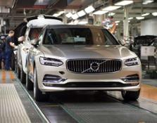 193270 Start of production of new Volvo V90 premium estate