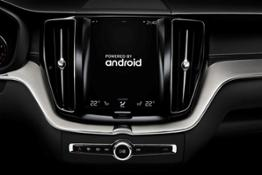 208088 Volvo with Android OS and Google services